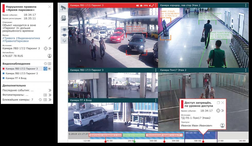 Видеоверификация событий в АРМ НЕЙРОСС